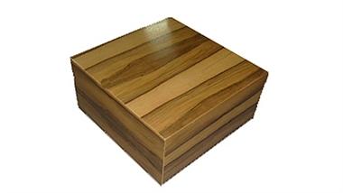 שולחן סלון  מרובע דגם רטרו