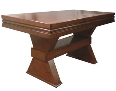 פינת אוכל מושלמת שולחן עם ששה כסאות דגם מגן דוד