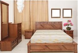 תמונה עבור הקטגוריה חדרי שינה עץ מלא