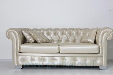 תמונה של סלון קפיטונאז' בעיצוב מוקפד דגם גפן