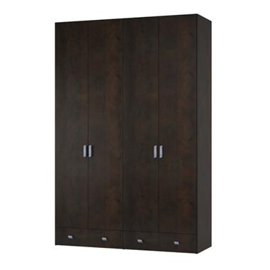 תמונה של ארונות בגדים: ארון בגדים 4 דלתות דגם ברק מלמין