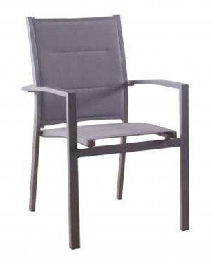 כסא אלומיניום לגינה איכותי ומרהיב ביופיו דגם ספוג