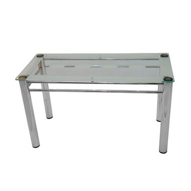 שולחנות: שולחן פינת אוכל מזכוכית דגם קינזי