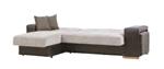 תמונה של ספה נפתחת למיטה דגם נפולי