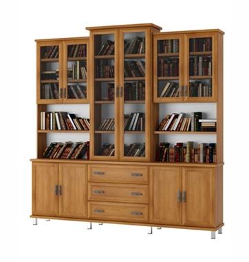 ארונות: ספריית קודש מרהיבה ביופייה דגם אליהו