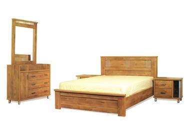 חדרי שינה: חדר שינה קומפלט דגם ניוטון 2
