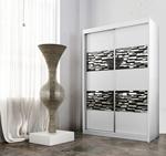 תמונה של ארונות הזזה: ארון הזזה 2 דלתות מרהיב ביופיו דגם פלמה תמר