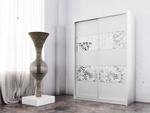 תמונה של  ארונות הזזה: ארון הזזה 2 דלתות מרהיב ביופיו דגם פלמה תאנה