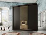 תמונה של  ארונות הזזה: ארון הזזה 3 דלתות מרהיב ביופיו דגם  אוניקס לוצ'י