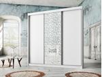 תמונה של  ארונות הזזה: ארון הזזה 3 דלתות מרהיב ביופיו דגם  אוניקס סחלב