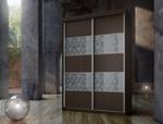 תמונה של  ארונות הזזה: ארון הזזה 2 דלתות מרהיב ביופיו דגם חושן