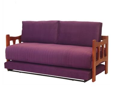 מיטות: ספת נוער + מיטה נגררת על קל דגם מומבאי