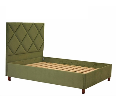 מיטות: מיטות: מיטה זוגית מרופדת דגם מילאנו