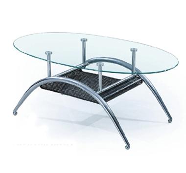 מזנונים ושולחנות טלוויזיה: שולחן סלון זכוכית מרהיב ביופיו דגם ינאי