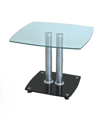 מזנונים ושולחנות טלוויזיה: שולחן סלון זכוכית מרהיב ביופיו דגם רימון