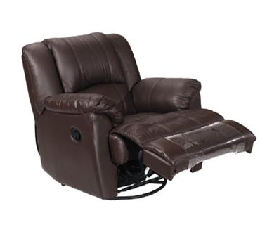 כורסאות: כורסא עם רקליינר מבד דגם רזיאל