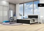תמונה של חדרי שינה: חדר שינה זוגי מרהיב ביופיו דגם קומו