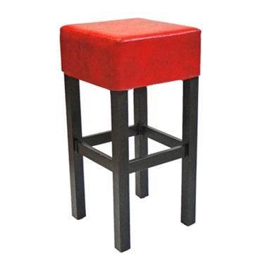 כיסאות בר: כיסא בר עץ וריפוד דגם גילי