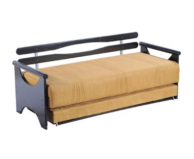 מיטות: ספת נוער + מיטה נגררת על קל דגם שי