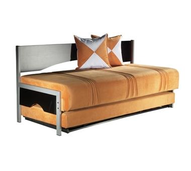 מיטות: ספת נוער + מיטה נגררת על קל דגם אהרון