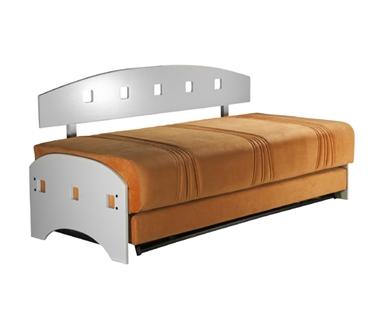 מיטות: ספת נוער + מיטה נגררת על קל דגם שרון