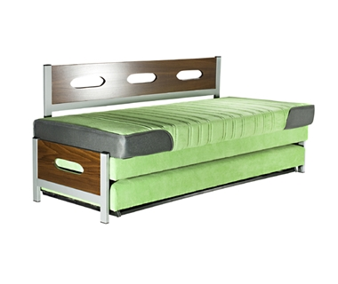 מיטות: ספת נוער + מיטה נגררת על קל דגם ורה