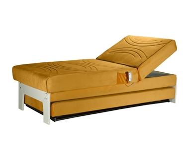 מיטות: ספת נוער + מיטה נגררת דגם שונטאל