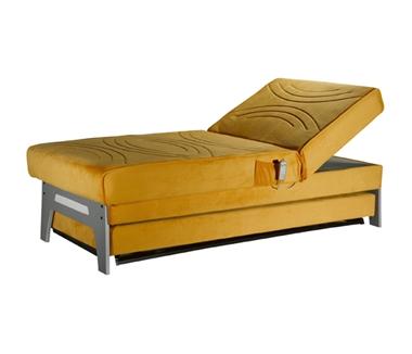 מיטות: ספת נוער + מיטה נגררת דגם הגר