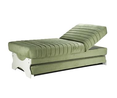 מיטות: ספת נוער + מיטה נגררת דגם לילך