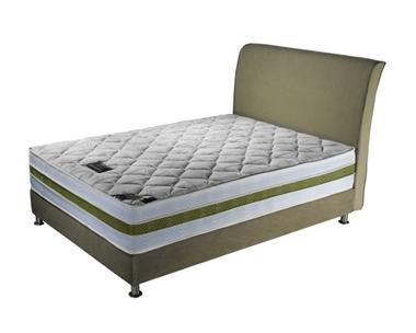מיטות: מיטה זוגית מרהיבה ביופייה דגם אברהם