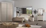 תמונה של חדר שינה: חדר שינה זוגי + ארון הזזה דגם חול