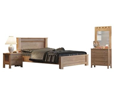 חדרי שינה: חדר שינה זוגי מרהיב ביופיו דגם סתיו