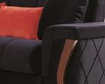 תמונה של מערכות ישיבה: סלון 2 + 3 נפתח למיטה דגם למוס
