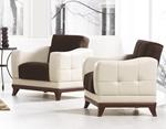 תמונה של מערכות ישיבה: סלון 2 + 3 נפתח למיטה דגם רומנס