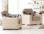 תמונה של מערכות ישיבה: סלון 2 + 3 נפתח למיטה דגם רויאל