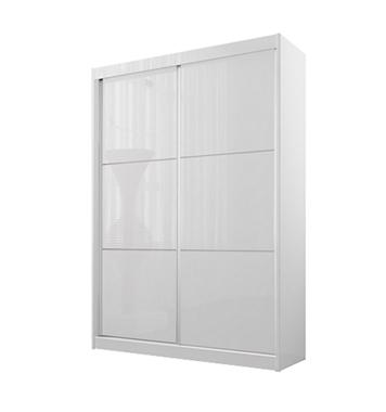תמונה של  ארון הזזה: ארון הזזה 2 דלתות מרהיב ביופיו דגם לונה
