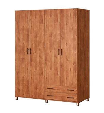 ארונות בגדים: ארון 4 דלתות מרהיב ביופיו דגם כרמית