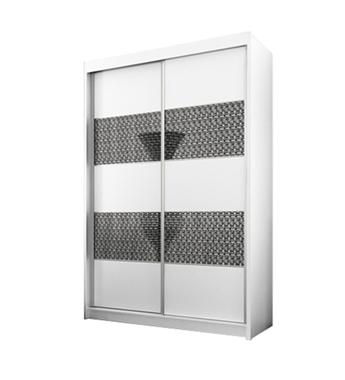 ארונות הזזה: ארון הזזה 2 דלתות מרהיב ביופיו דגם אוסלו