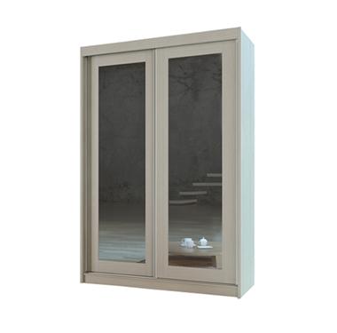 ארונות הזזה: ארון הזזה 2 דלתות מרהיב ביופיו דגם הילה