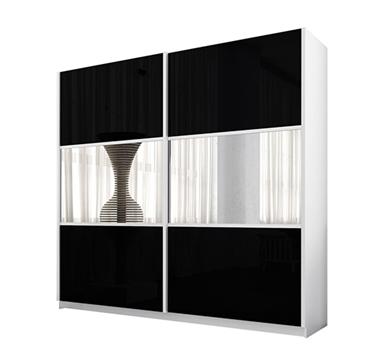תמונה של  ארונות הזזה: ארון הזזה 2 דלתות מרהיב ביופיו דגם יקינטון