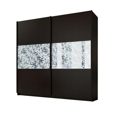 ארונות הזזה: ארון הזזה 2 דלתות מרהיב ביופיו דגם טוקיו תאנה