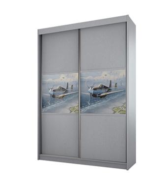 תמונה של  ארונות הזזה: ארון הזזה 2 דלתות מרהיב ביופיו דגם טוקיו רותם