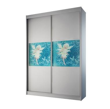 ארונות הזזה: ארון הזזה 2 דלתות מרהיב ביופיו דגם טוקיו פייה
