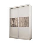 תמונה של ארונות הזזה: ארון הזזה 2 דלתות מרהיב ביופיו דגם טוקיו אלמוג