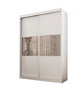 ארונות הזזה: ארון הזזה 2 דלתות מרהיב ביופיו דגם טוקיו אלמוג