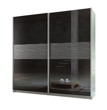ארונות הזזה: ארון הזזה 2 דלתות מרהיב ביופיו דגם טופז