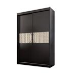 תמונה של  ארונות הזזה: ארון הזזה 2 דלתות מרהיב ביופיו דגם חרוב