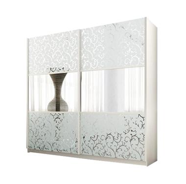 תמונה של  ארונות הזזה: ארון הזזה 2 דלתות מרהיב ביופיו דגם יערה
