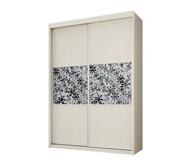 תמונה של  ארונות הזזה: ארון הזזה 2 דלתות מרהיב ביופיו דגם כלנית