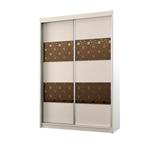 תמונה של  ארונות הזזה: ארון הזזה 2 דלתות מרהיב ביופיו דגם מנגו